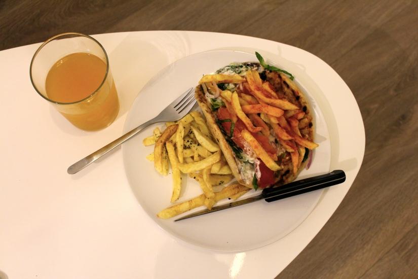 ATHENS TRILOGY   FOOD &DRINK